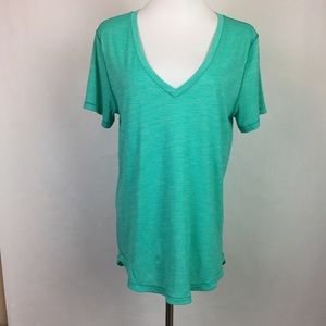 Lululemon What The Sport Tee Heathered Bali Breeze